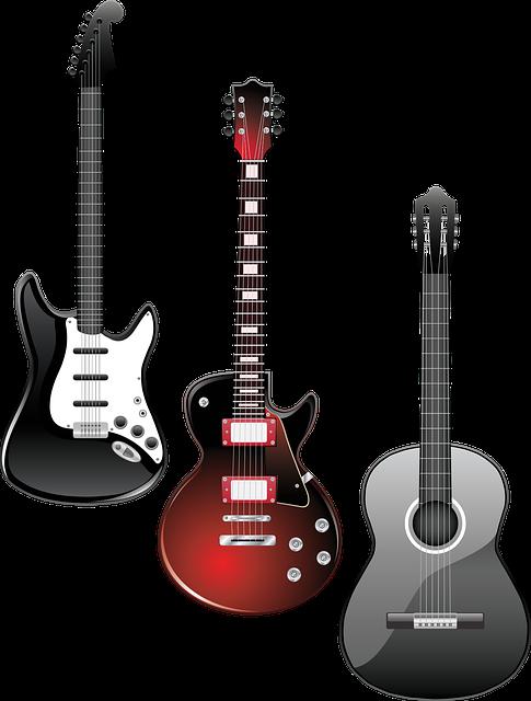 ギター 3本