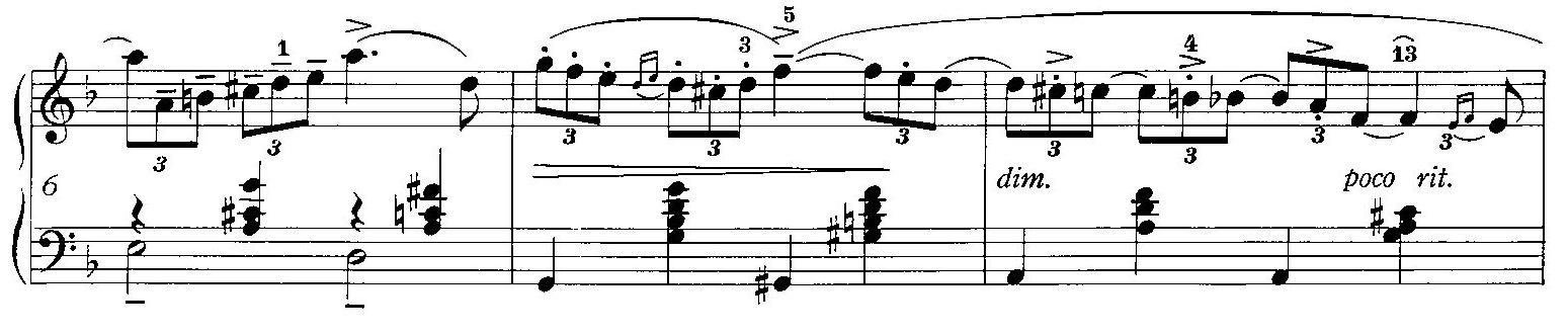 テヌート(tenuto)の音楽記号