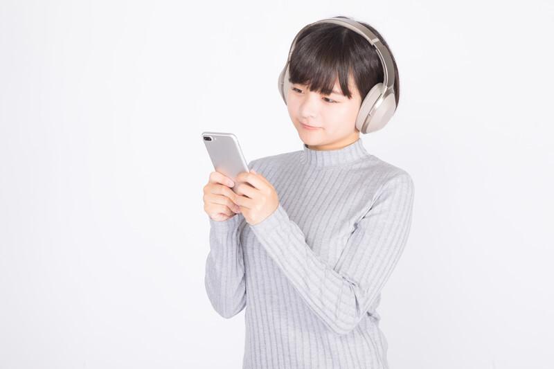 音楽を聴く