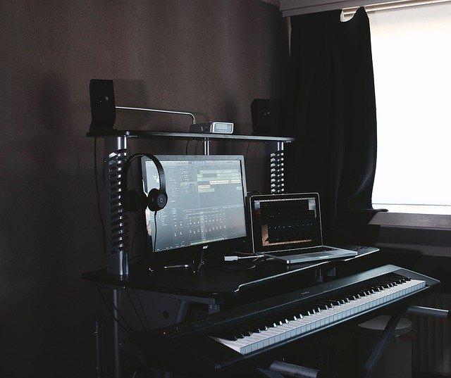 音楽の作業場