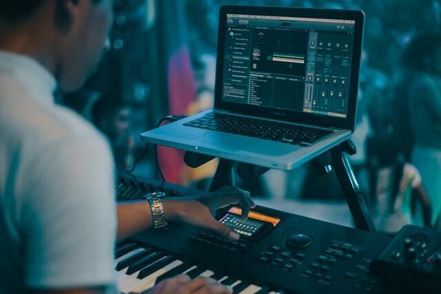 音楽の作業現場